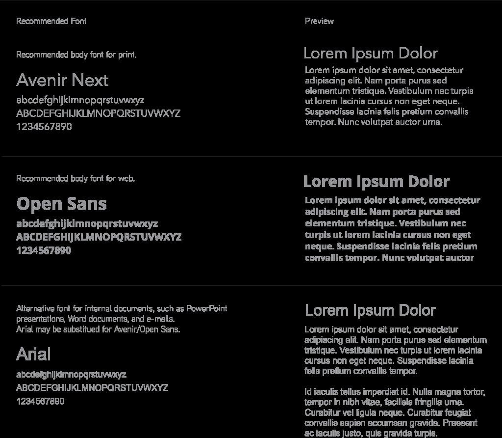 GetLinked_Brand_Recommended_Fonts